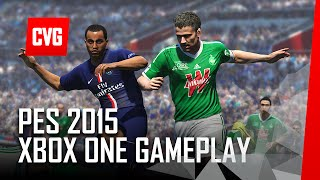 PES 2015 - Xbox One Gameplay - Man Utd vs Man City - 60fps