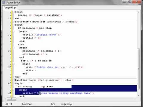 Membuat Aplikasi Antrian Dengan Java