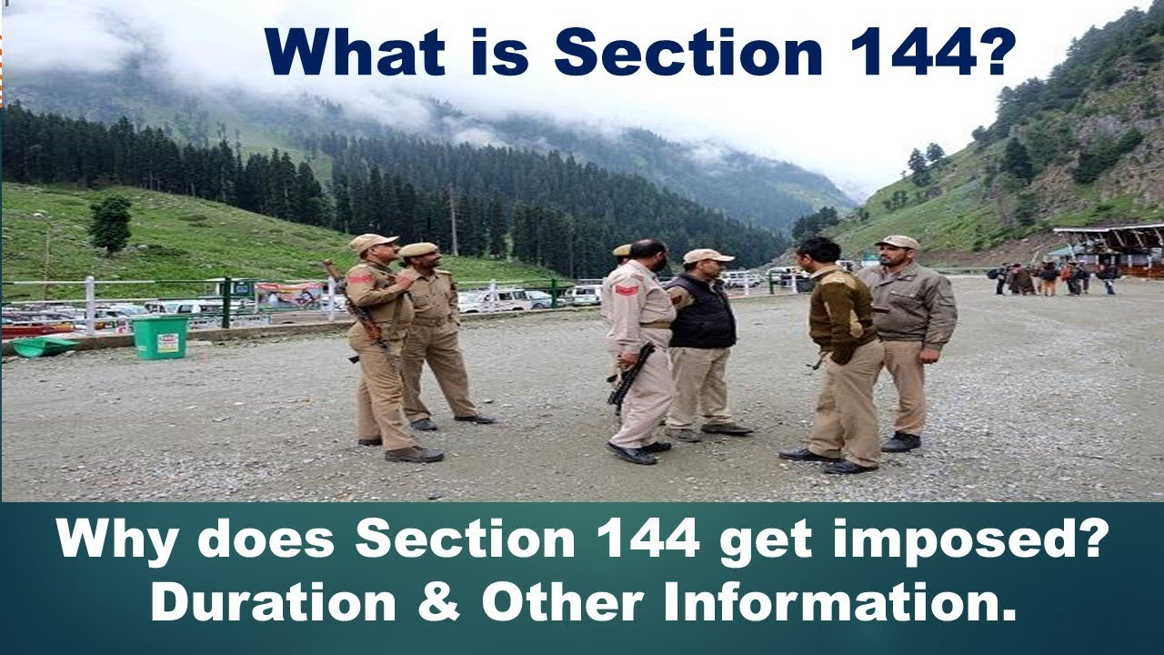 What is Section 144? | What is section 144 of the CrPC ...