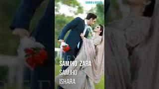Samjho Zara Samjho Ishara Tera Hua Atif Aslam Full Screen Status
