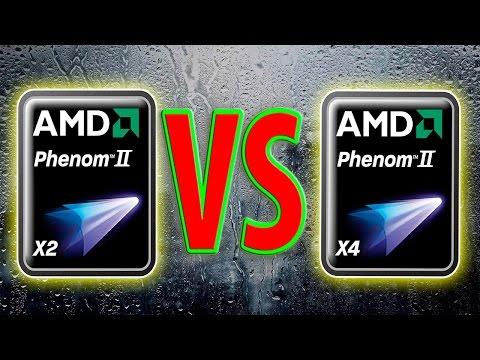 Amd Phenom Ii X4 955 Vs Phenom Ii X2 B59 Gtx 950 Youtube