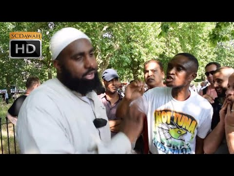 Can you just answer?? Hussein Vs Christian | Speakers Corner | Hyde Park