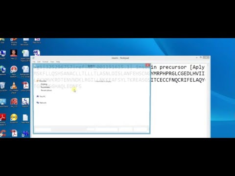 Collecting fasta file of protein from NCBI