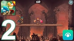 Rayman Adventures - Gameplay Walkthrough Part 2 - Adventures 3-4 (iOS, Android)