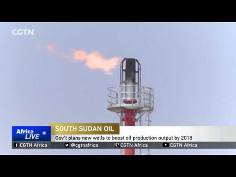 South Sudan Oil: Gov't plans new wells to boost oil production output by 2018