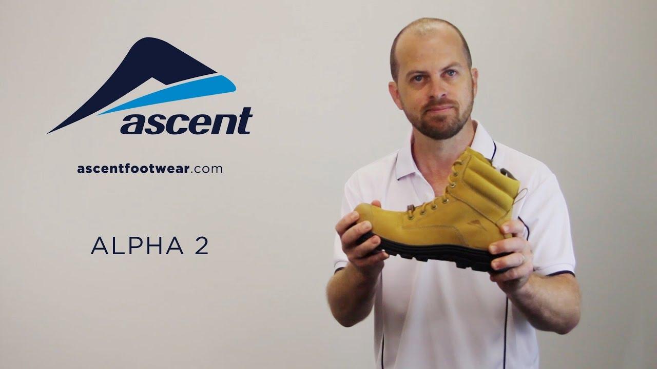 ce0dc0b00a0 Ascent Footwear Alpha 2 Workboot Video
