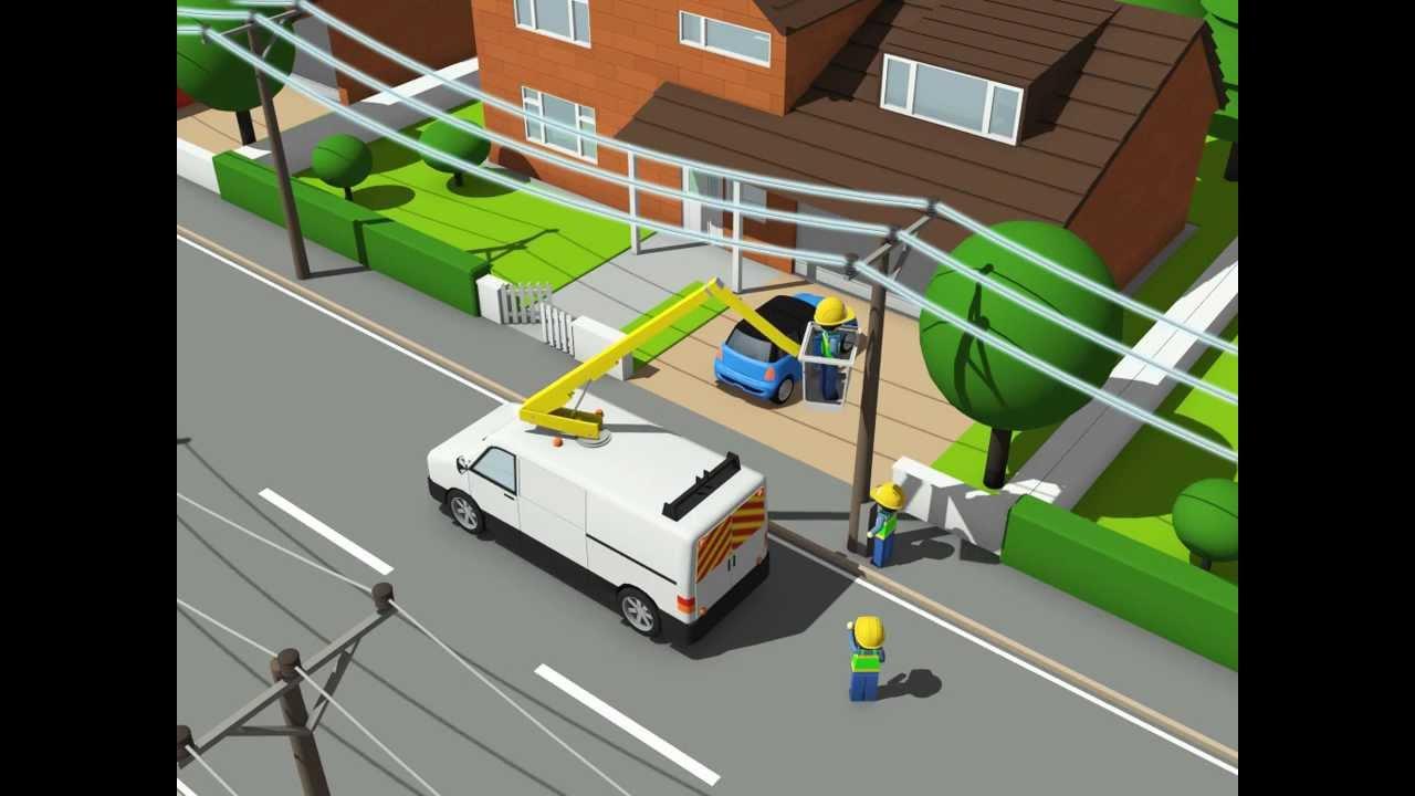 Energised Alert Power Line Accident Simulation