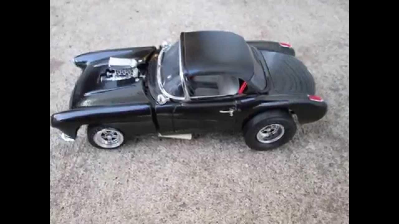 1957 Corvette Gasser Mpc Kit 1 25 Scale Built Youtube