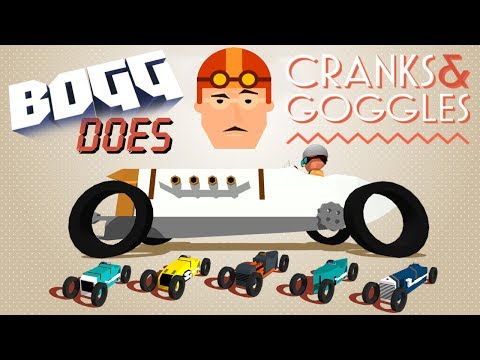 BOGG does Cranks & Goggles - Crash Drifting Fun circa 1930 - Class A Races