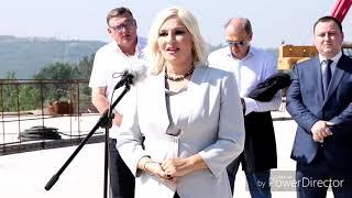 Ministarka Mihajlivić obišla radove - Čučković predložio ime za most