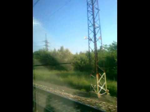 Электровоз ЧС2К с пассажирским поездом Саранск-Москва,