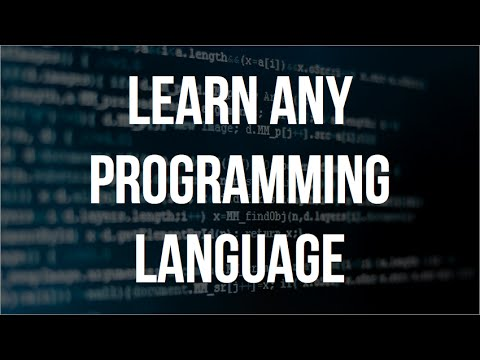 How To Learn Any Programming Language