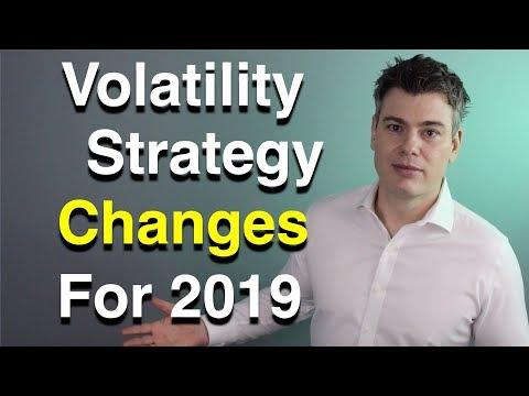 Volatility Strategy Changes for 2019  -  VIX, VXX, UVXY, SVXY