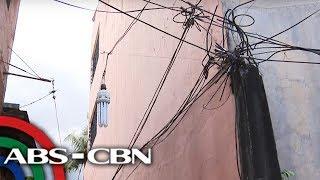 TV Patrol: 'Peligrosong' kable ng kuryente na nasa loob ng bahay inireklamo