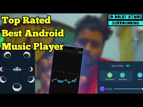 World Best Music Player, Bass Booster & EQ Dolby Atmos Player For Android Boom App Full Bass