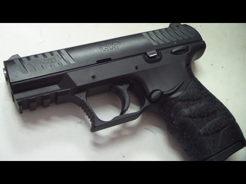 Walther CCP 9mm (close up in HD)