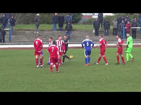 Bo'ness United v Hurlford United First Half Highlights