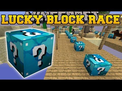 Minecraft: DIAMOND MINE LUCKY BLOCK RACE - Lucky Block Mod - Modded Mini-Game