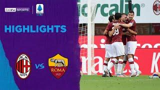 Ac Milan 2-0 As Roma   Serie A 19/20 Match Highlights