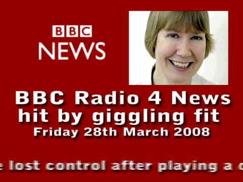 BBC Radio 4 News Hit by Giggling Fit...