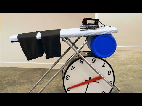 The Dresser - Rube Goldberg Machine for Getting Dressed | Joseph's Machines