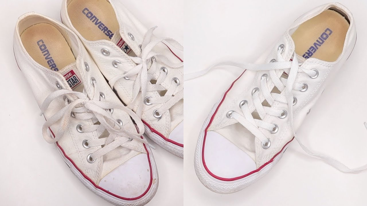 How To Clean White Converse - YouTube a87f8f4a8e341