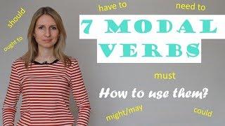 Урок №27. Модальные глаголы. Английский с нуля.