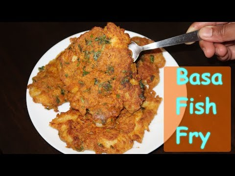 Basa Fish Fry | Thawed Basa Fish Fry Indian Style