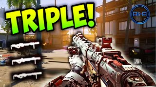 sniper triple call of duty advanced warfare multiplayer gameplay cod aw sniping