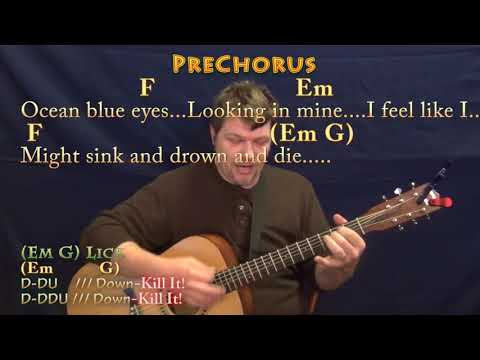 Gorgeous (Taylor Swift) Strum Guitar Cover Lesson in C with Chords/Lyrics