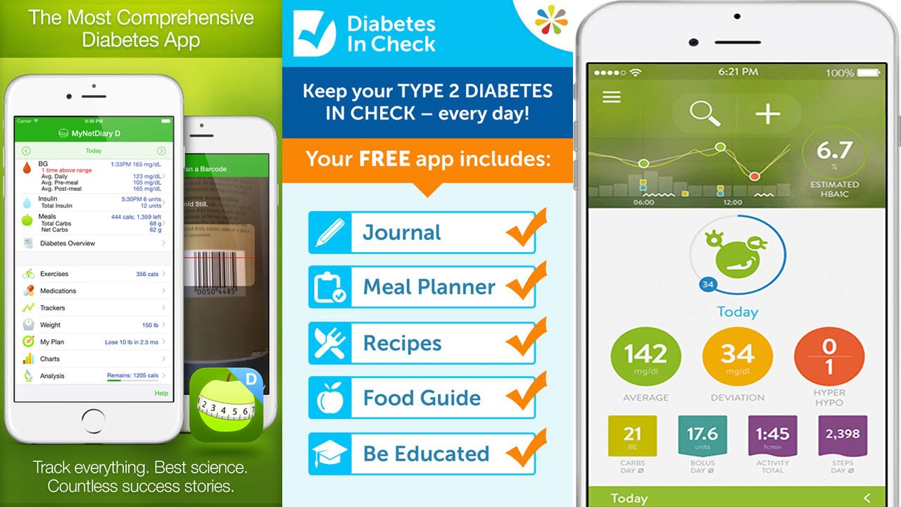 apps for diabetics diets