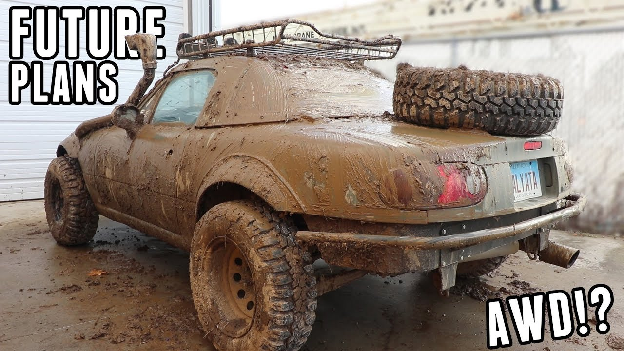 Rally Miata Project Update: Build List, AWD Swap & More