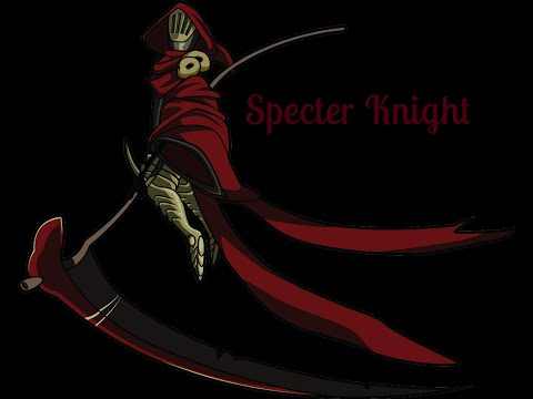 Shovel Knight Specter Knight Boss