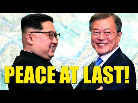 North And South Korea Peace At Last? Are We Talking Nobel Peace Prize?