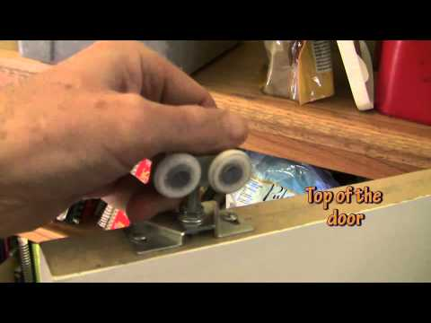 How to fix a pocket door