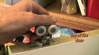 How to fix a pocket door