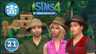 The Sims 4: Jungle Adventures Pt 21: Archaeology Temple