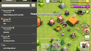 Let's Play Clash of Clans #002der globale Chat