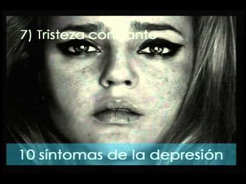 Los 10 síntomas de la depresión