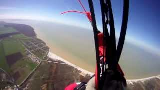 Electric paramotor - UP 620 meter!