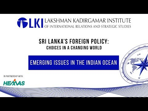 Sri Lanka's Foreign Policy: Choices in a Changing World - DAY 1