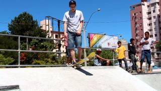 Como Dropar uma rampa de skate