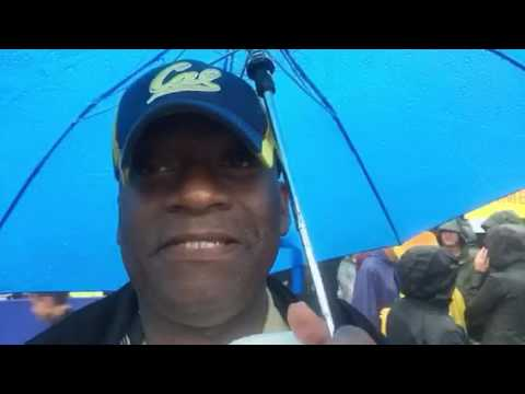 Cal vs Stanford Big Game Vlogging In Rain With Knish