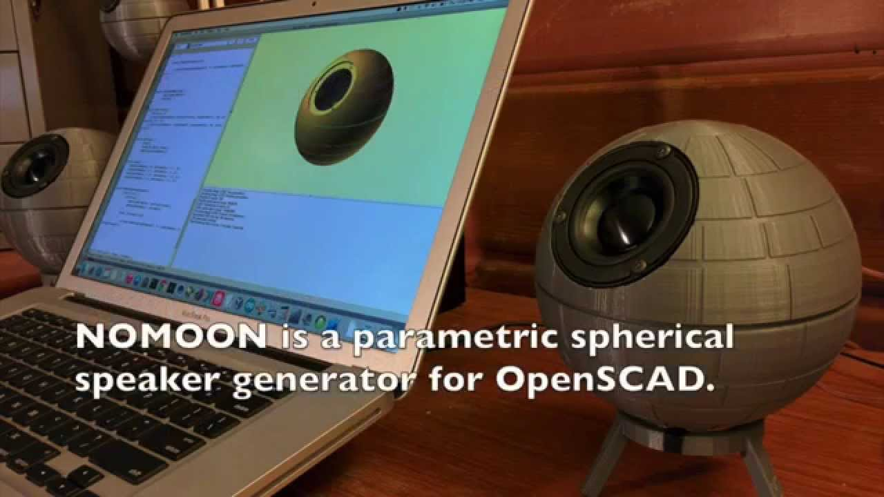 Spherical Speaker Enclosure Nomoon Spherical Speaker Generator  Youtube