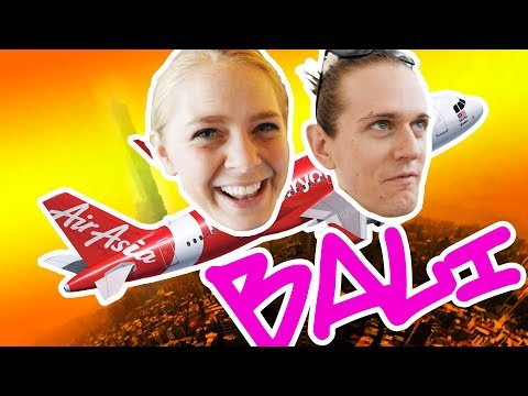IS AIRASIA ANY GOOD?! AirAsia Airlines Economy Review! (Taipei to Kuta Bali Airport)