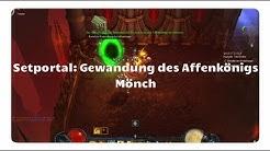 Mönch: Gewandung des Affenkönigs (Setportal, Setdungeon, Diablo 3)