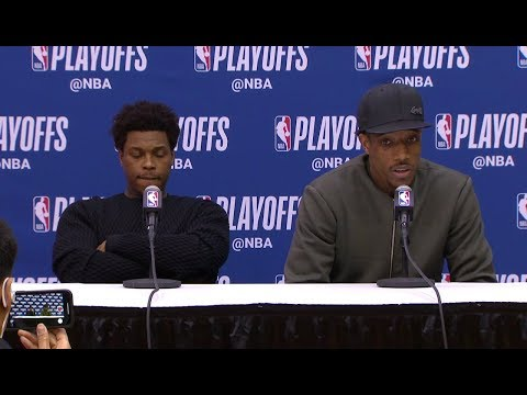 DeMar DeRozan & Kyle Lowry Postgame Interview | Raptors vs Wizards - Game 4 | 2018 NBA Playoffs
