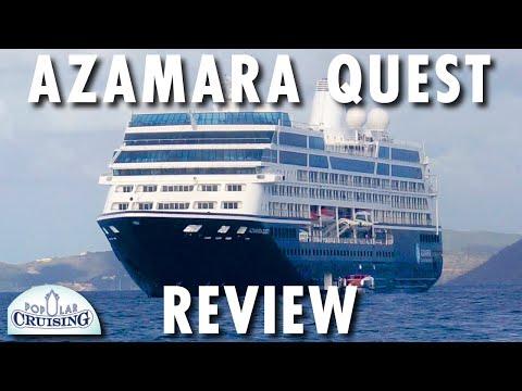 Azamara Quest Tour & Review ~ Azamara Club Cruises ~ Cruise Ship Tour & Review