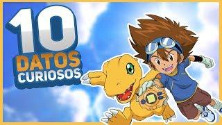 10 Datos curiosos de Digimon