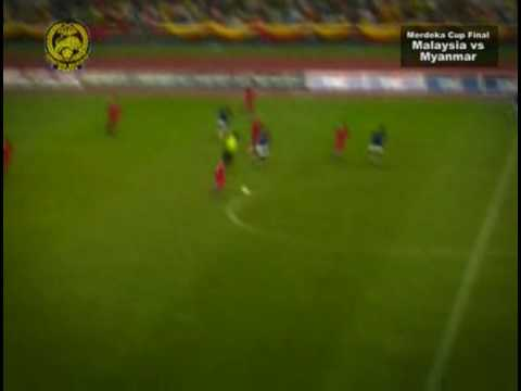 Malaysia beat Myanmar 3-1, 39-th Merdeka (2007)